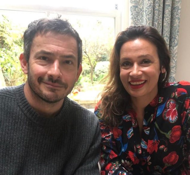 Lisa & Giles Coren; British food writer and television presenter.