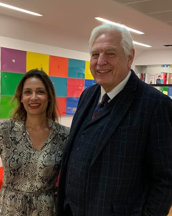 Lisa & John Simpson; Foreign correspondent and world affairs editor .