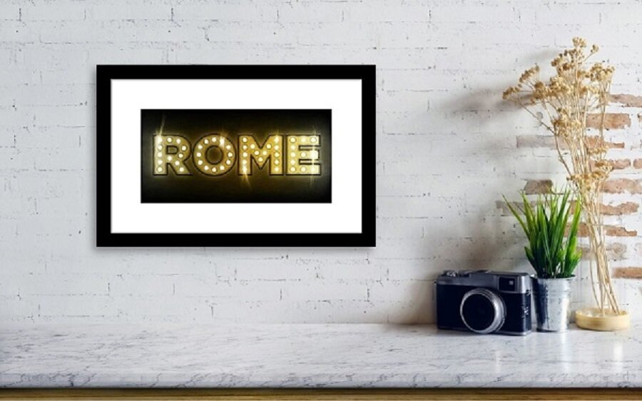 Credit: Fine Art America, 'Rome in Lights'.