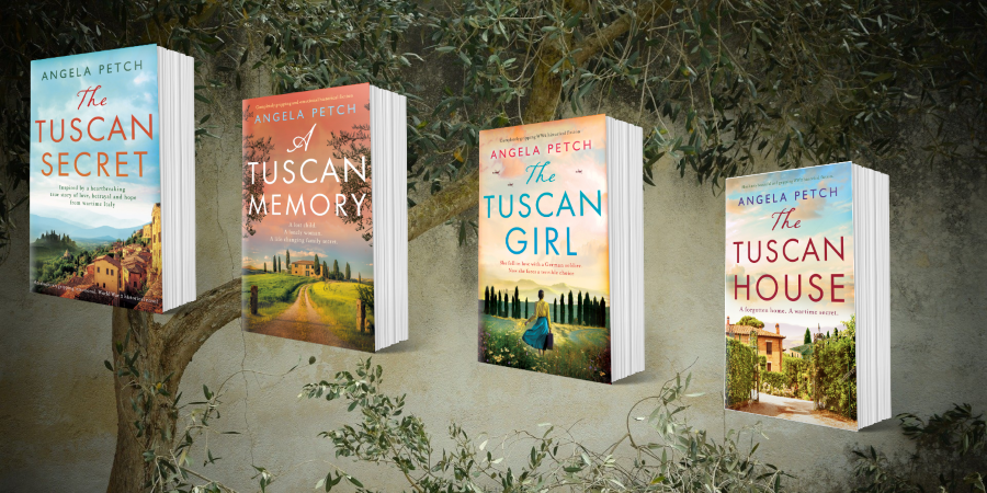 My Connection to Italy with author Angela Petch