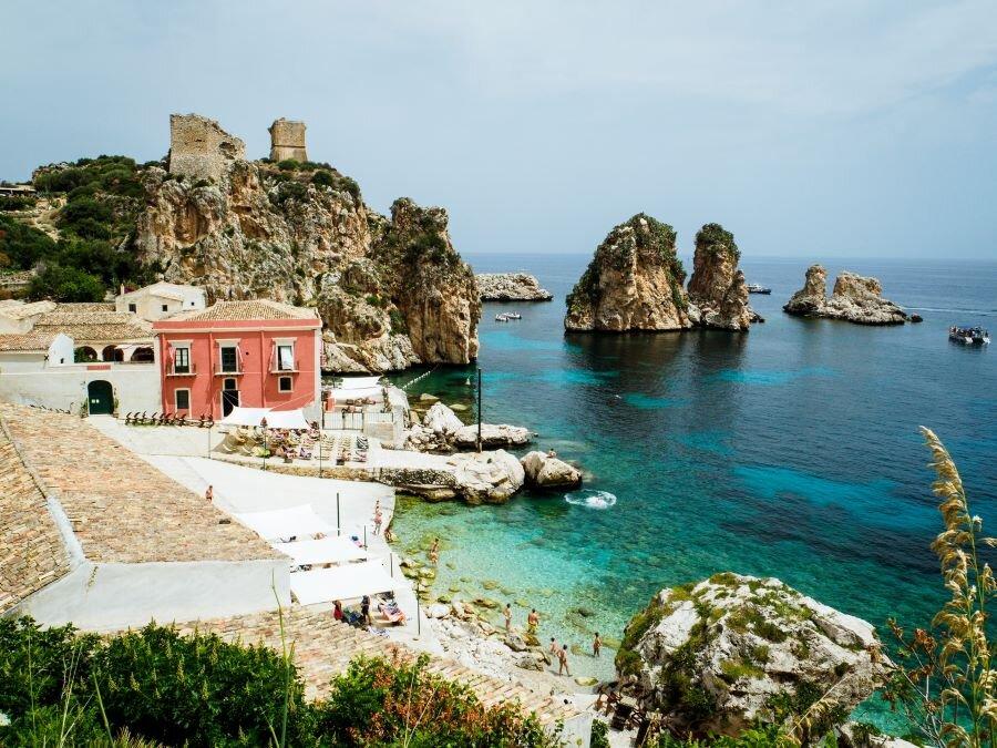 Credit: Unsplash. Scopello, Sicily.