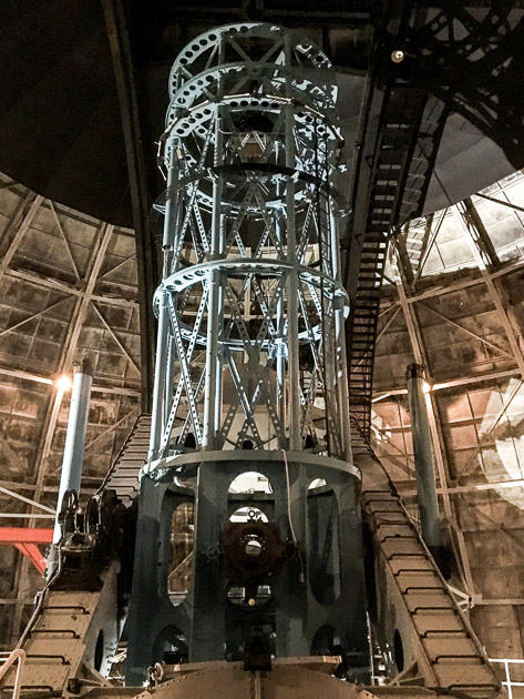 100 inch telescope