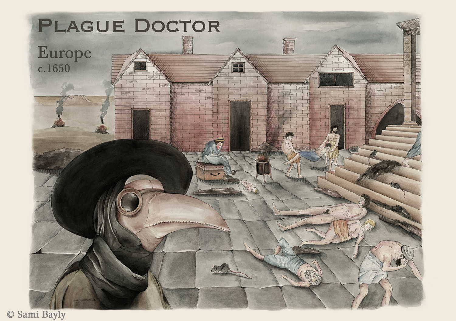 Plague Doctor Infographic