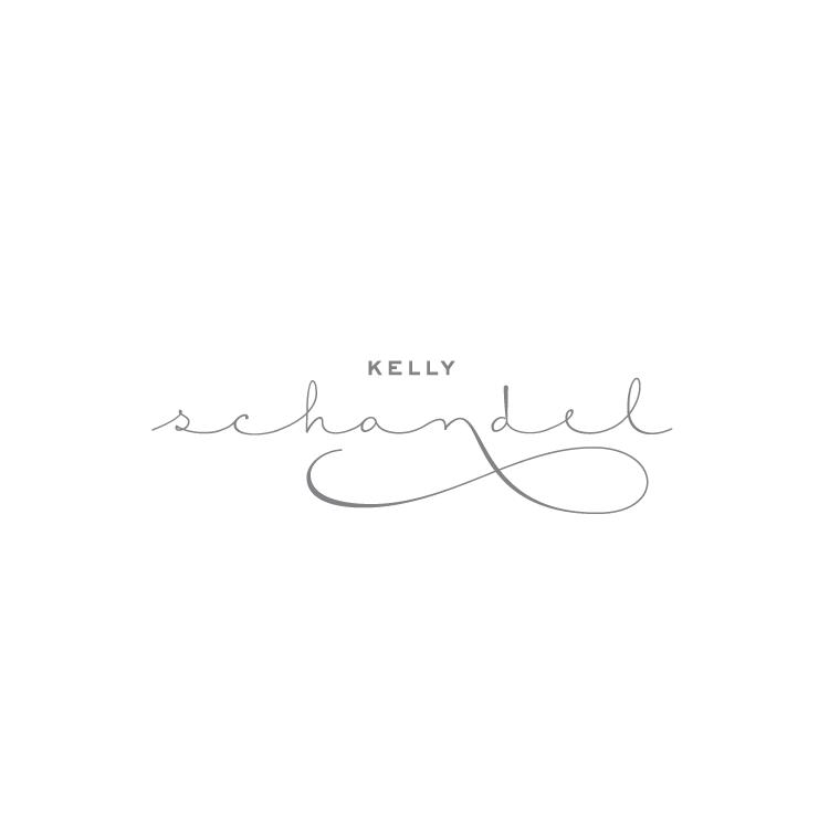 Peggy Wong Studio / logo design for Kelly Schandel