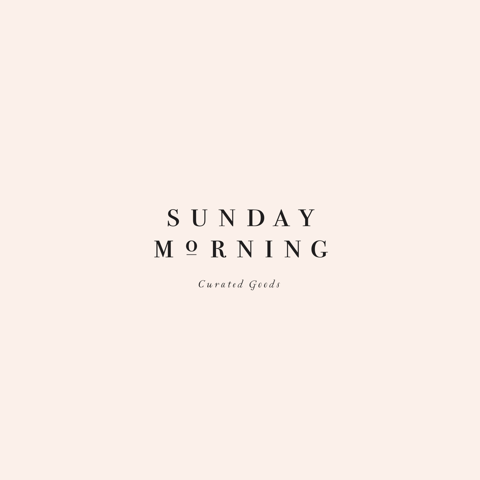 Peggy Wong Studio / logo design for Sunday Morning