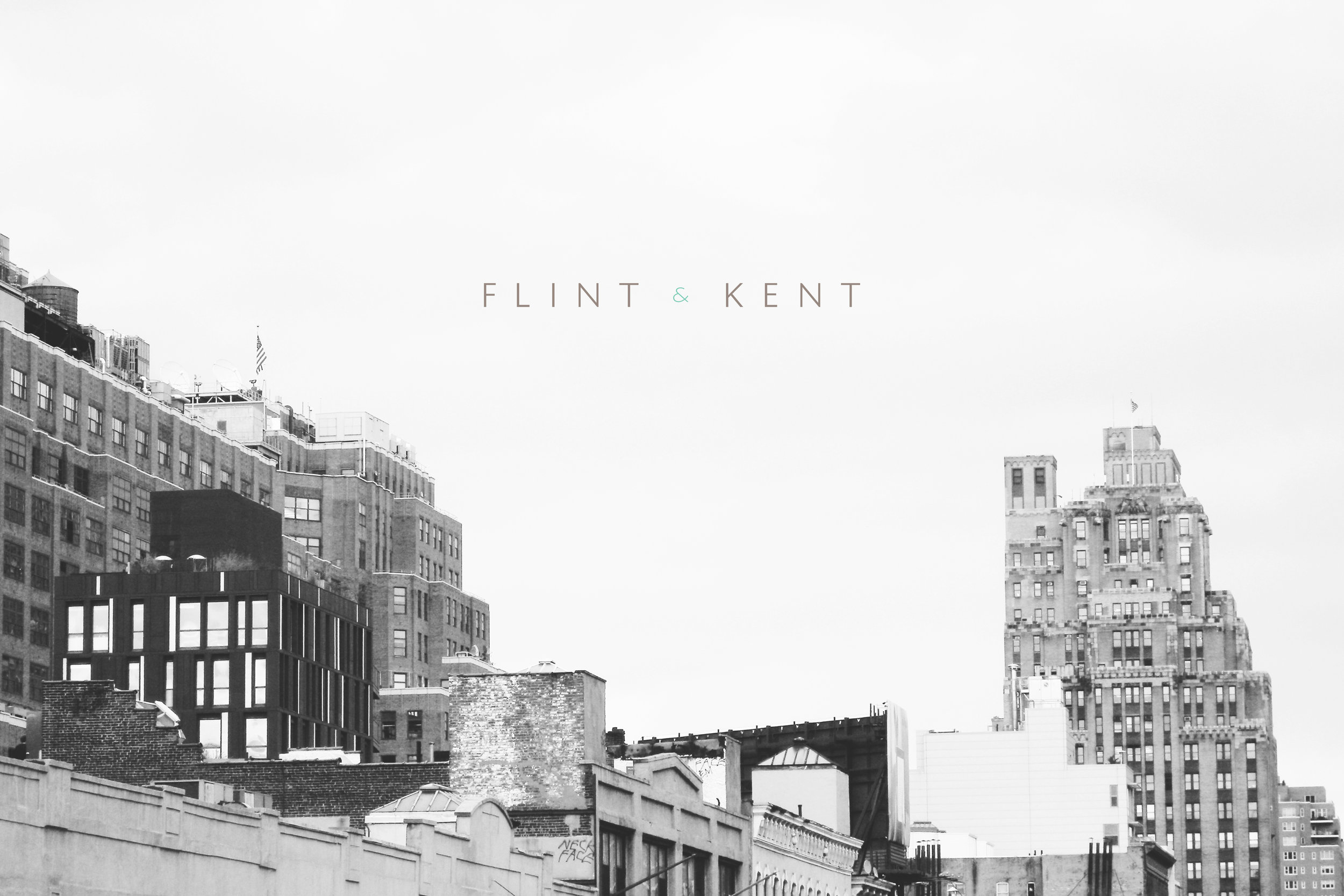 Peggy Wong Studio / logo design and photography for Flint & Kent
