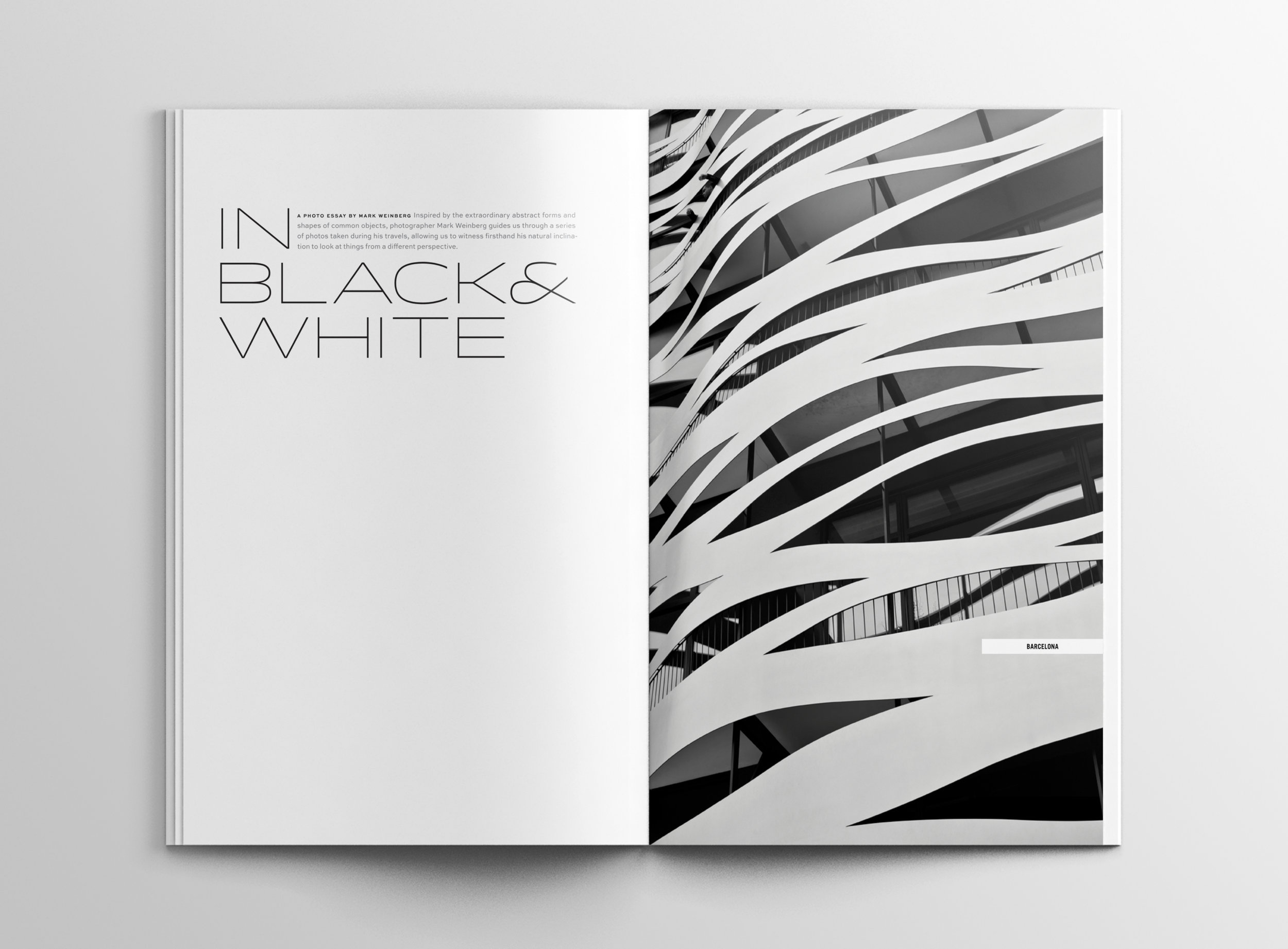 Peggy Wong Studio / editorial design for Wayfare Magazine, photography by Mark Weinberg