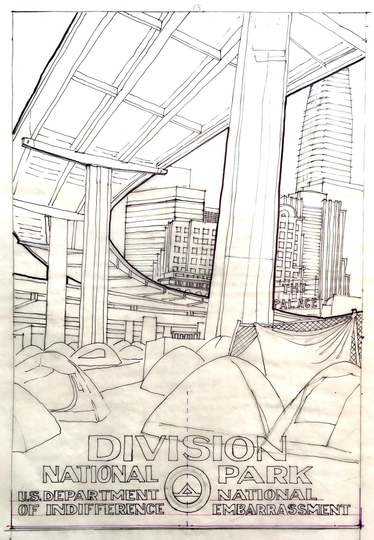 Division master drawing