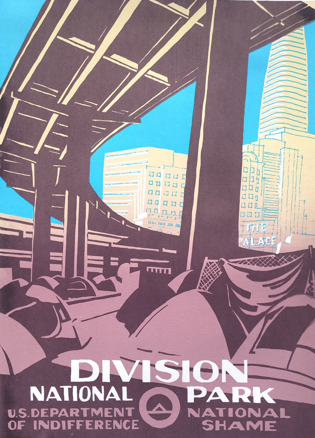 Final Division National Park Poster