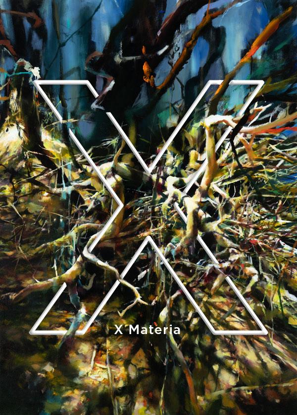 Postcard for X Materia show