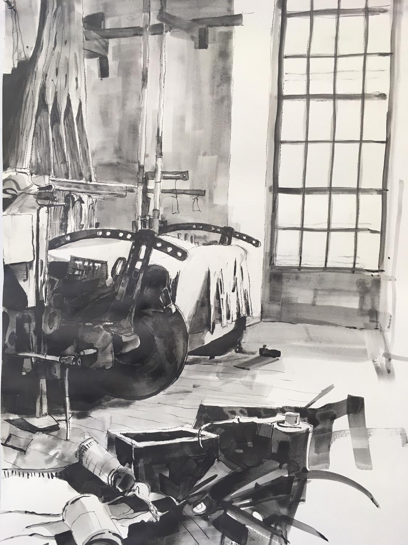 Anderl Fabrik Jacquard Loom