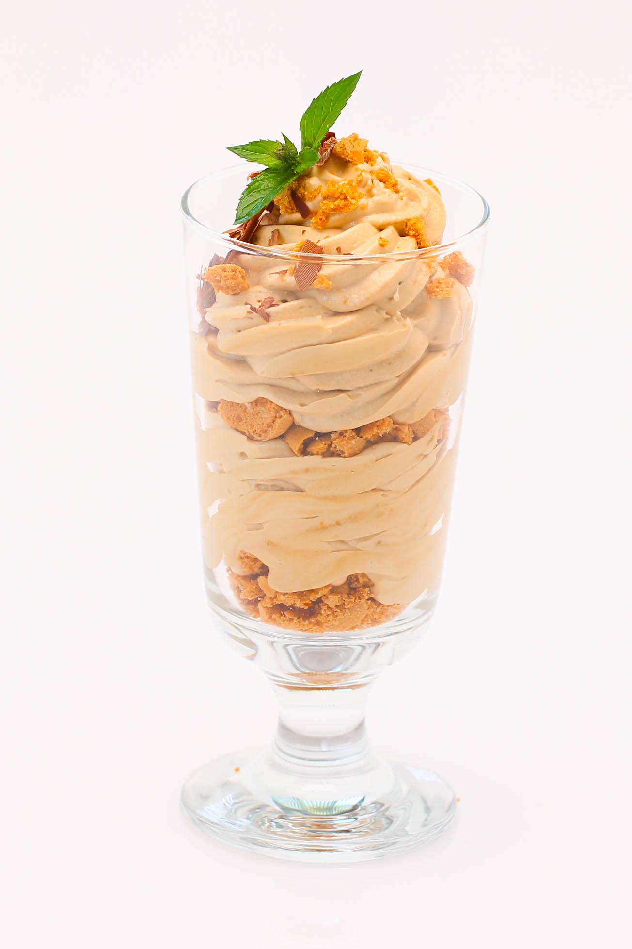 Coffee Cream with Amarettini