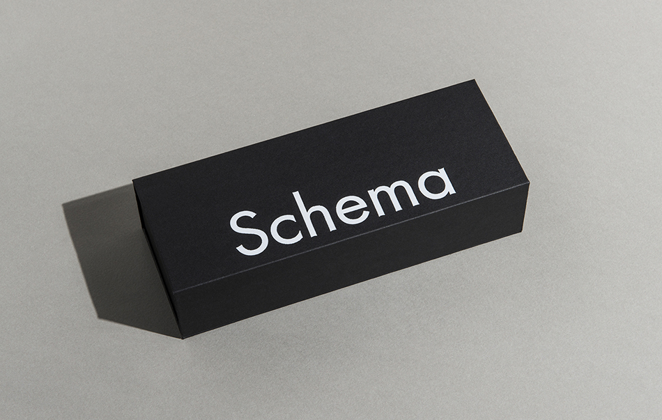 Schema   Sunyoung Kim  77(w) x 200(l) x 47(h)mm 14 layered paper blocks in a hard box