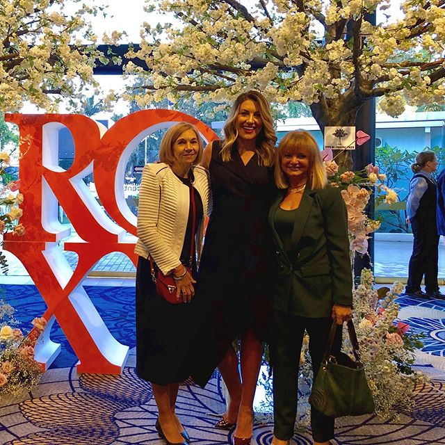 With mum and Aunty Ruth about to host @roxyjacenko #tipsandtricks on the Gold Coast!