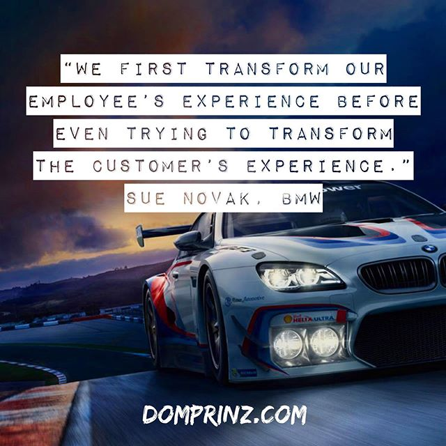 Tru that! #cxnyc #customerexperience #employeeexperience #bmw
