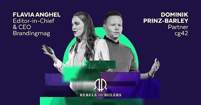 "Excited to be co-hosting this year's ""Rebels & Rulers"" Branding Conference in Bucharest! #rebelsrulers #branding"
