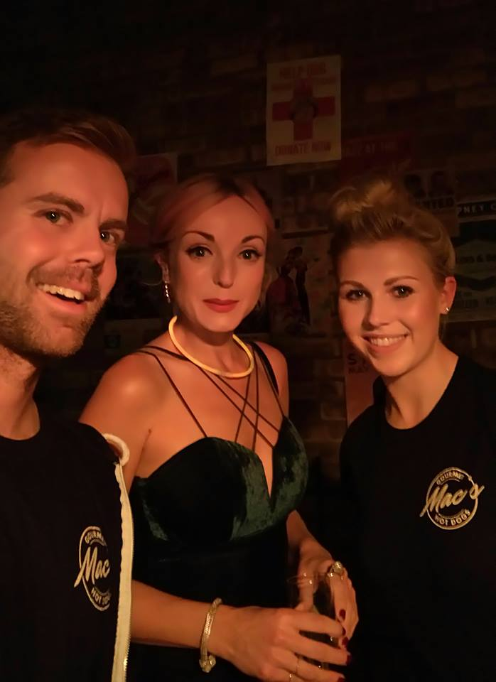 THE MAC'S TEAM WITH HELEN GEORGE - WHO PLAYS TRIXIE