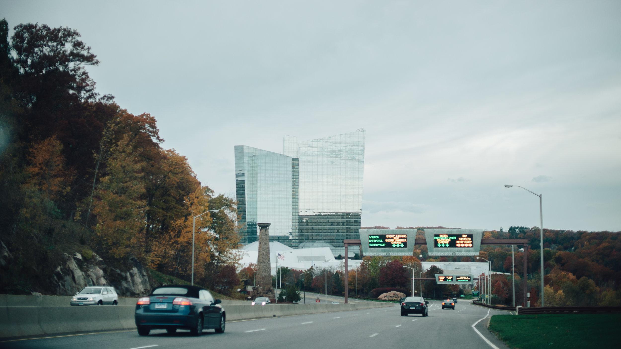 All roads lead to the Mohegan Sun Casino & Hotel
