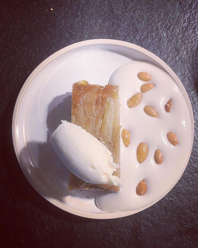New desserts on the menu, this seasonal treat is using pears from Meg's parents garden and it's vegan! Winner #dessert #rootbristol #tasty #seasonal #goodfood #southwest #bristol.
