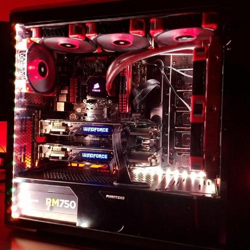 2-way SLI gaming computer