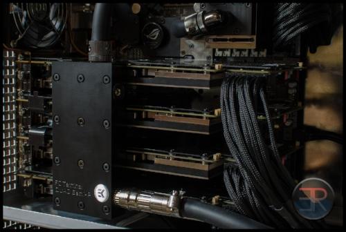 4-way SLI watercooled computer