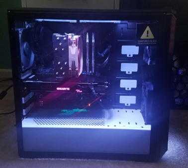 strix eclise custom gaming computer