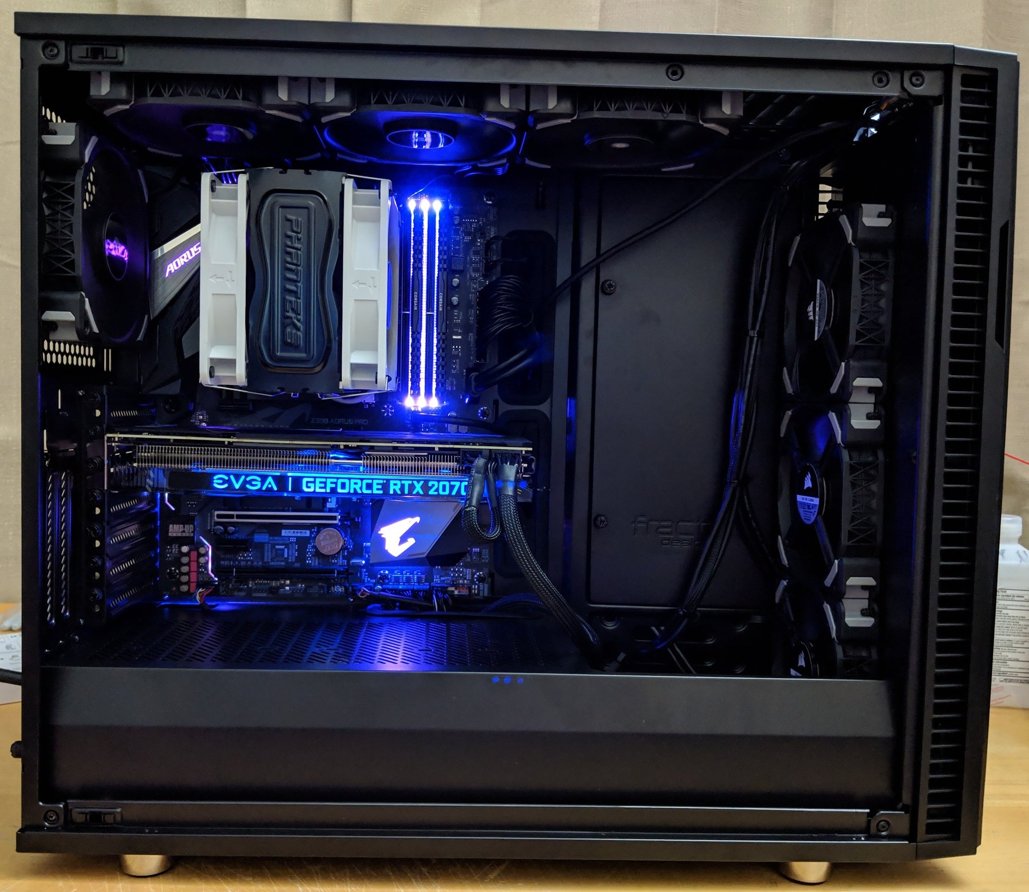 Violet Night 1440p 100hz High Gaming PC