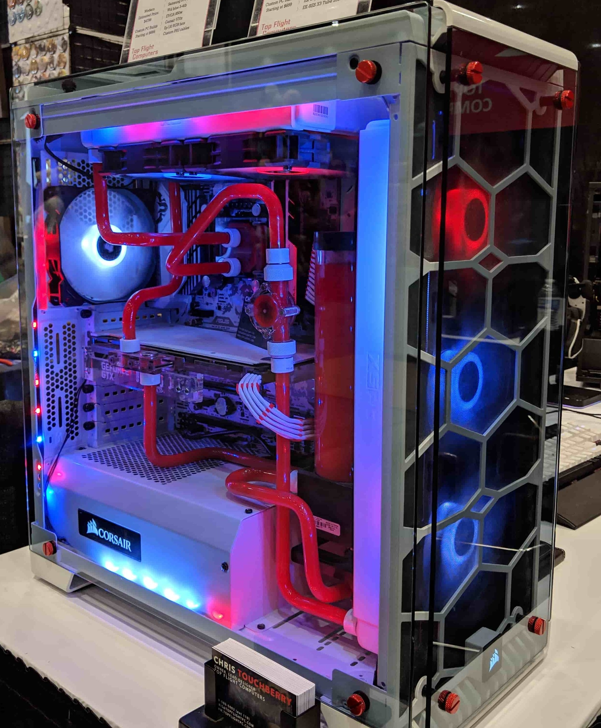 Red Mist Enthusiast Gaming Computer
