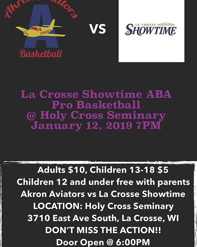 DON'T MISS THE ACTION! New location, same great basketball.
