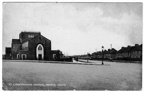 From Broad Lane, Date unknown