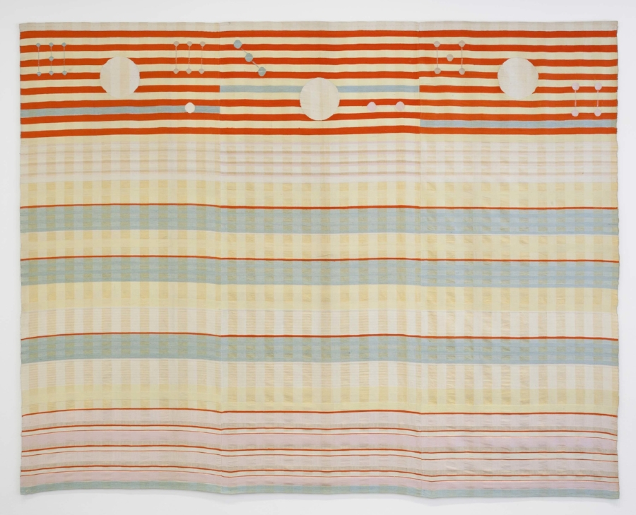 Benita Koch-Otte,  Woven Wall Hanging , 1923. Manufactured by Bauhaus Weaving Workshops, Weimar, Germany. © The Museum of Modern Art, New York.