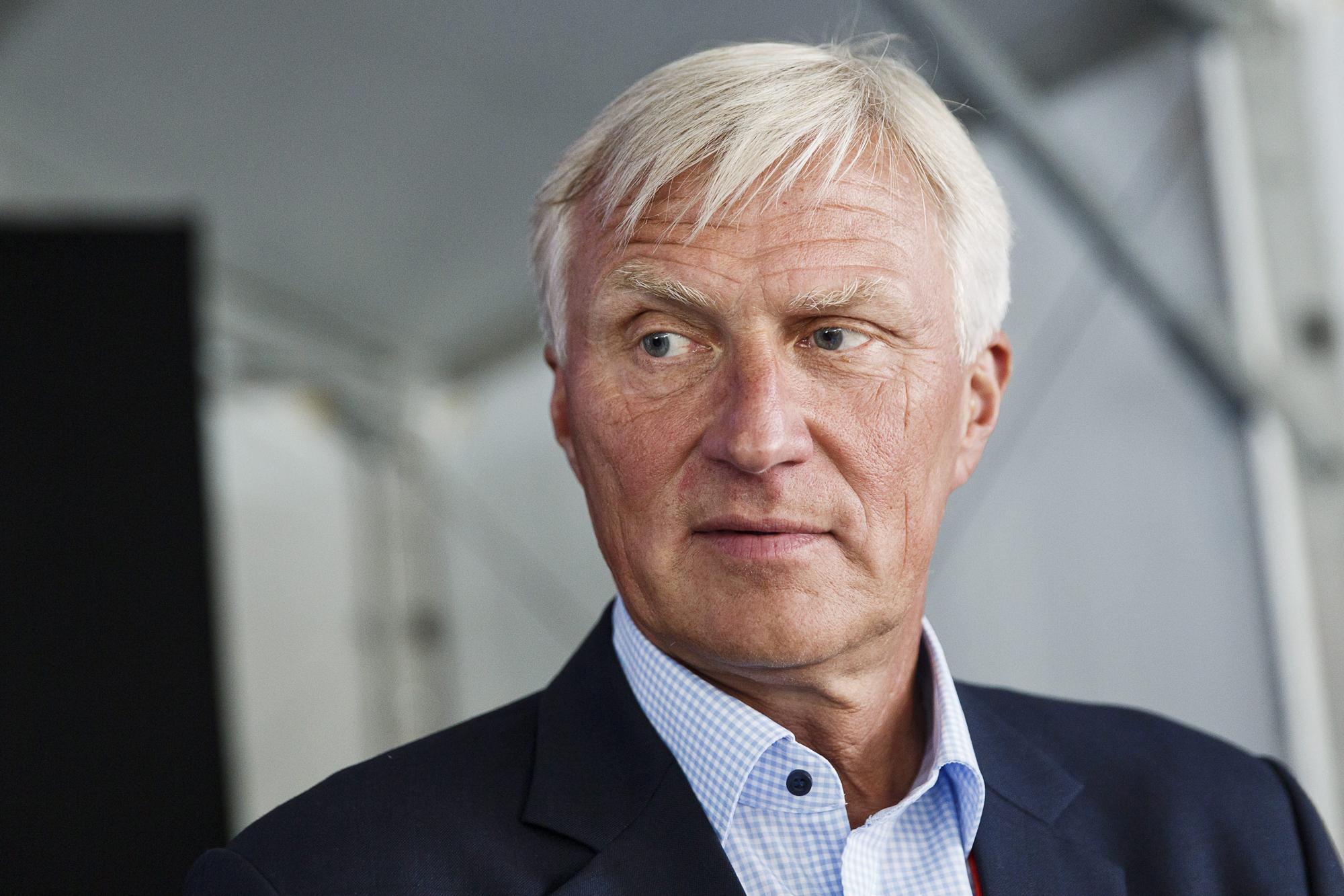 Village haastatteli Professori Anssi Vanjokea kokemuksestaan kimppa-asunnon vuokranantajana. (Kuva © Lehtikuva / Roni Rekomaa)