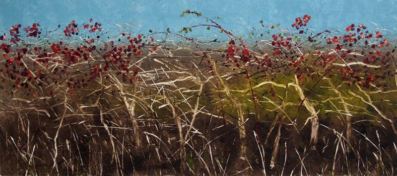 Autumn Hedgerow II