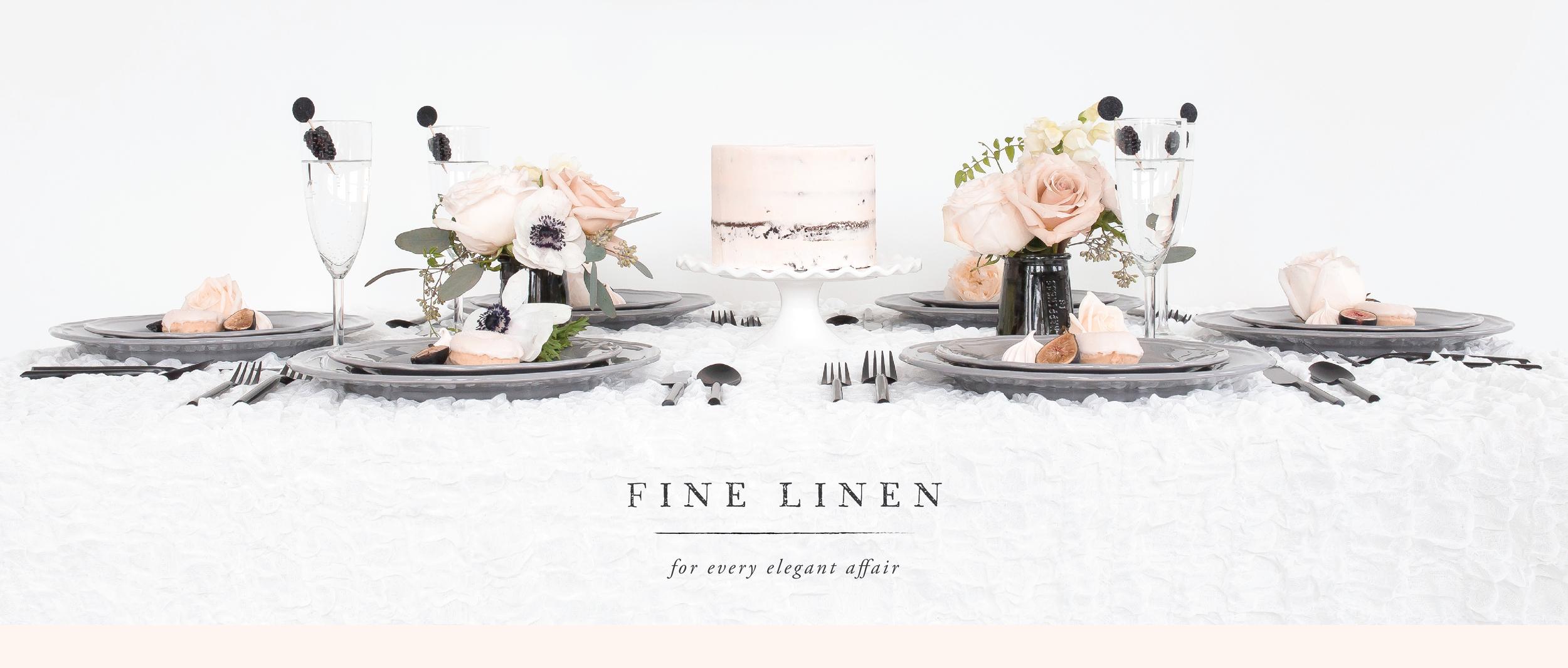 Fine Linen Rentals   Soiree Linen   Fort Collins Boulder Denver