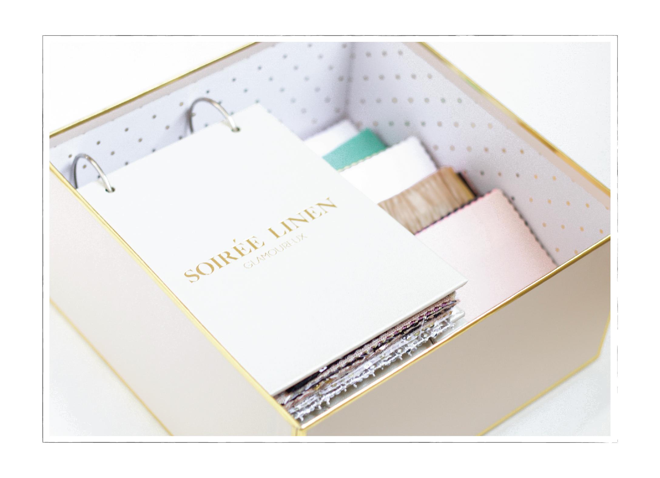 Linen Rental Swatch Books | Soiree Linen | Fort Collins Loveland Boulder Denver