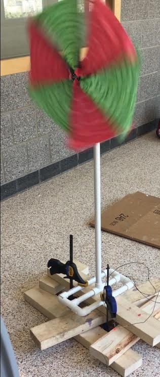 The windmill that I made at STEAM camp