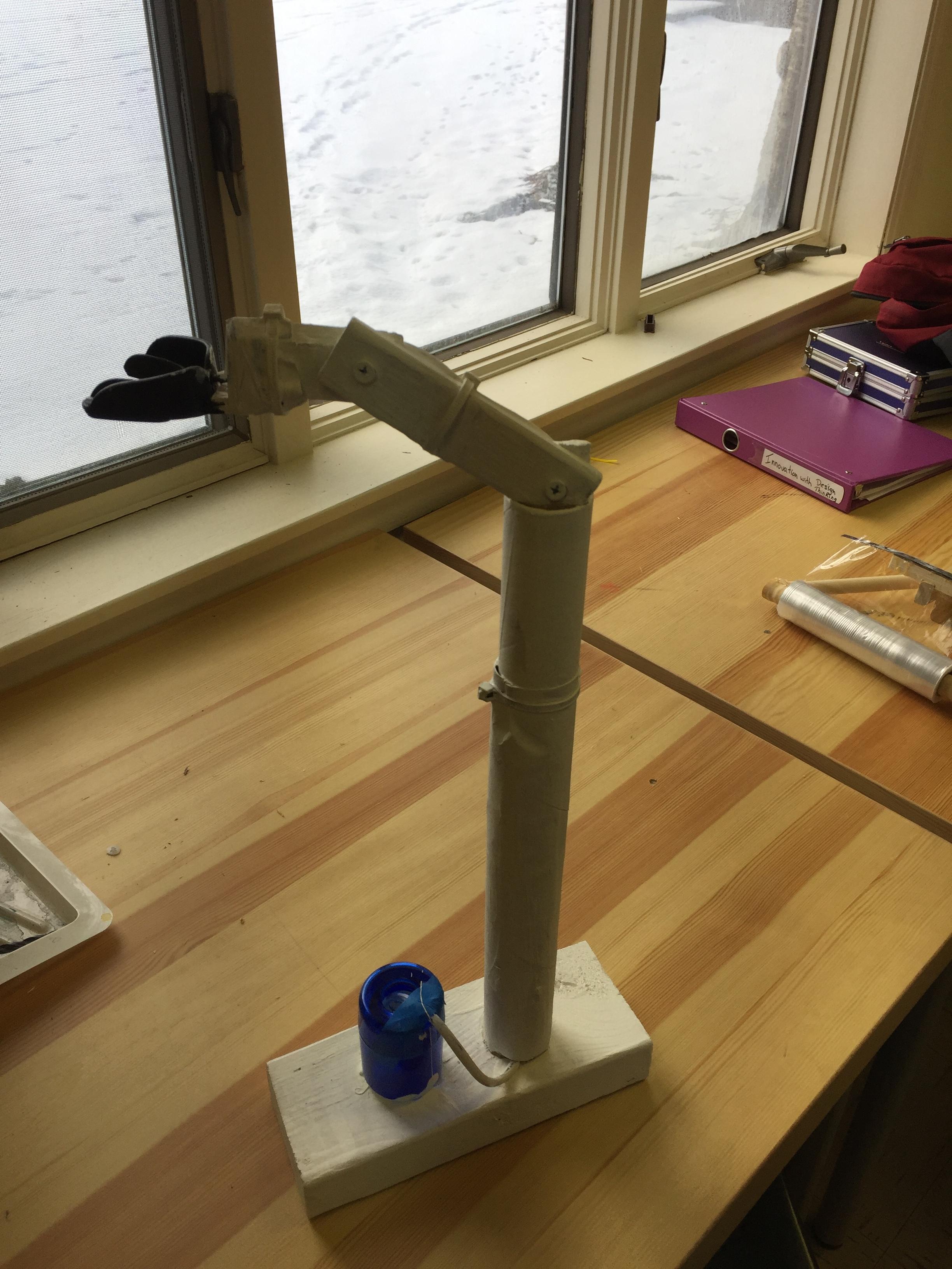 Second Prototype of The Insta-Brush