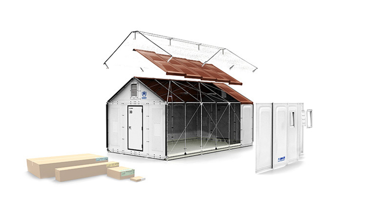 This simple idea from IKEA will be a huge help for refugees in the world. This shelter is easy to set up, and it will protect them from the cold winters or water leaking in when it rains. This shelter can provide electricity from the solar panels on the roof. The heat will stay inside the shelter because of the insulation in the walls. It is not expensive to produce and is easy to ship around the world. It comes in a box with all the material to build the whole shelter.