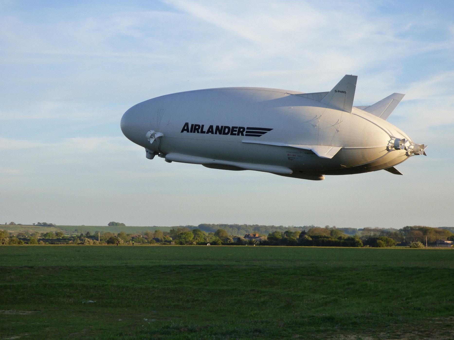 Arilander blimp, the worlds largest blimp!