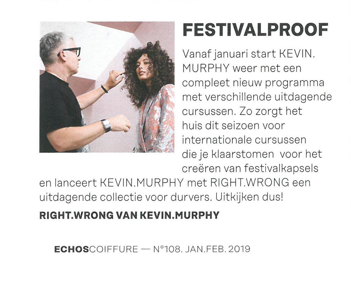 Echos Coiffure - Jan Feb 2019