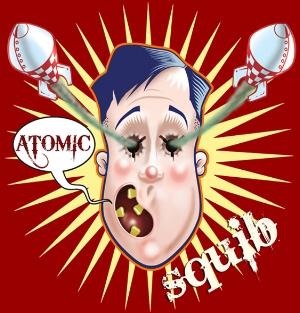 ATOMIC SQUIB LOGO – Digital illustration