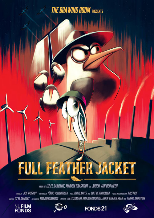 Full Feather Jacket    Role:  Additional Animation - Clean up Artist