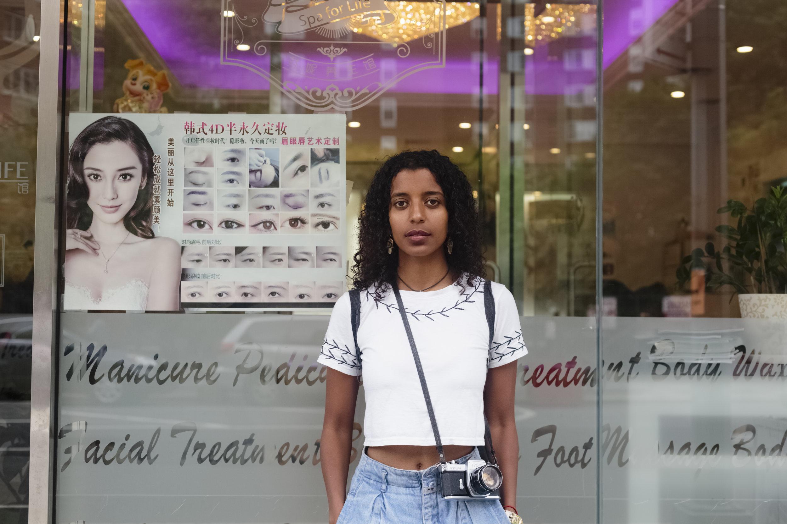 Selam Bekele  Chinatown, Manhattan, 2018