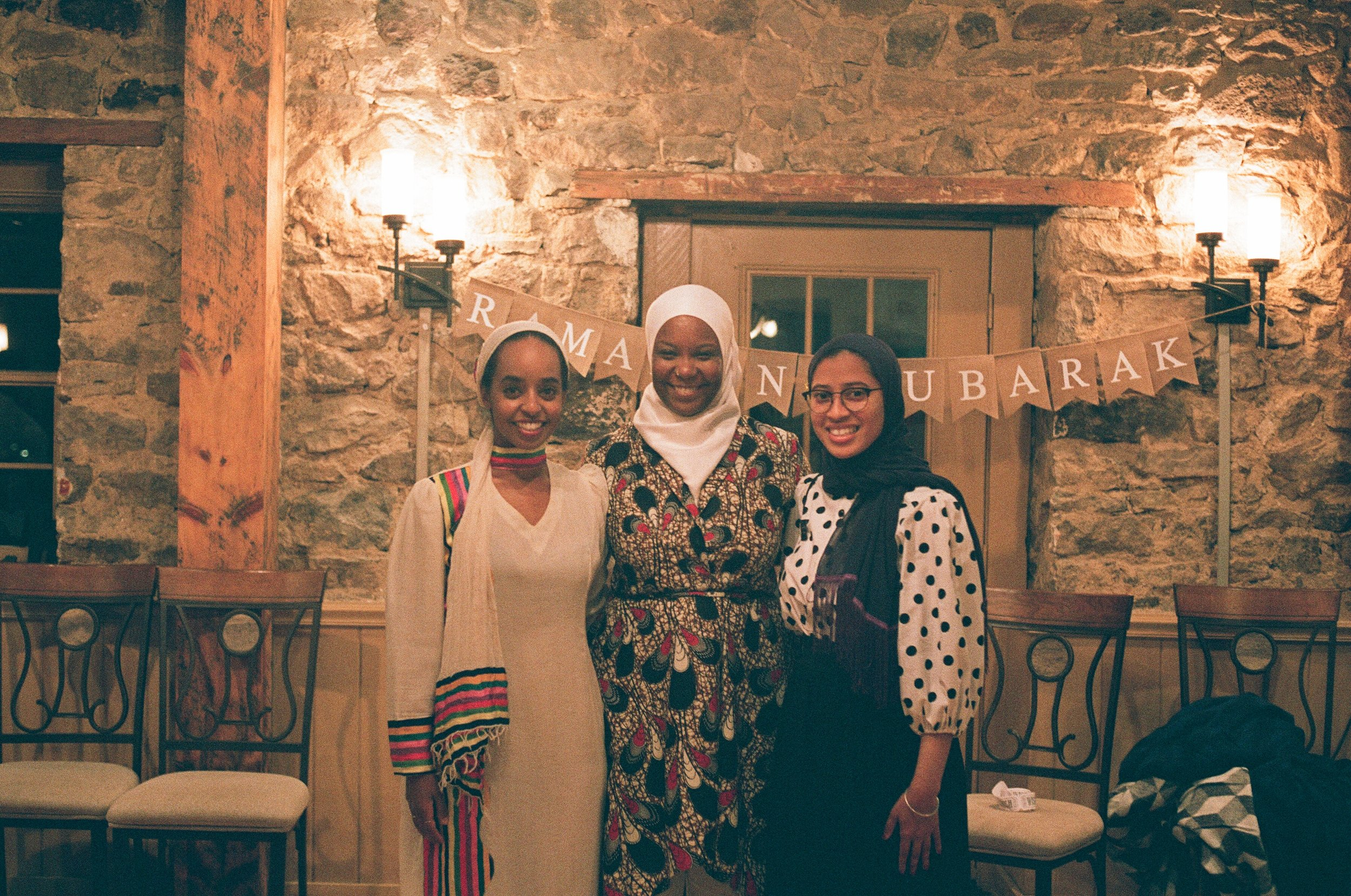 Samira, Kameelah and Leila