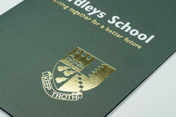 School Prospectus Finishes