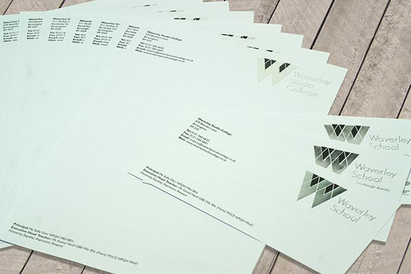 Printed School Stationery