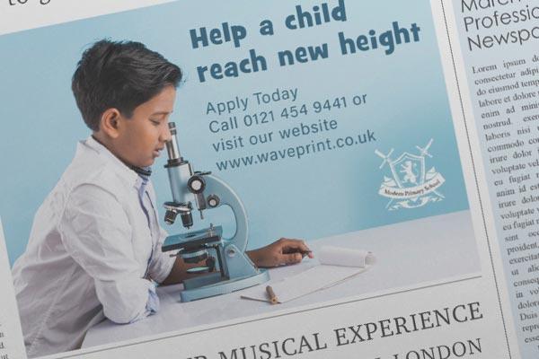 Press Advert Design