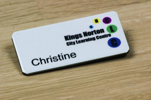 Printed School Badges
