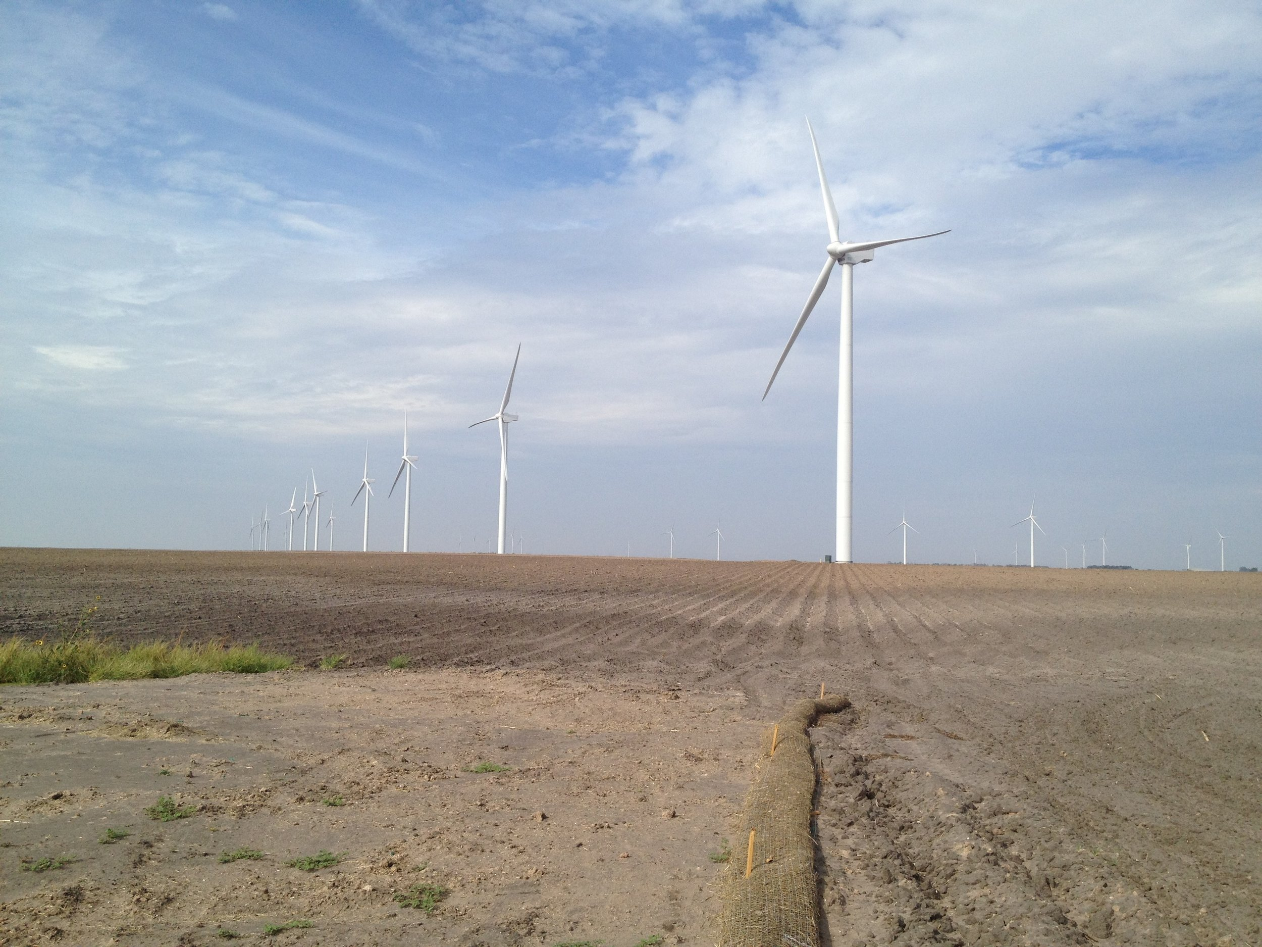 Los Vientos III, IV, and V Wind Projects