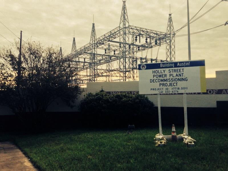 Holly Street Power Plant Demolition